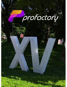"""Renta de Números romanos ¨XV¨ , """"XVI"""" , """"XVII"""" , """"XVIII"""""""